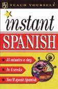 cover of a book, Instant Spanish